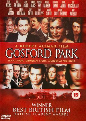 Gosford Park Online DVD Rental
