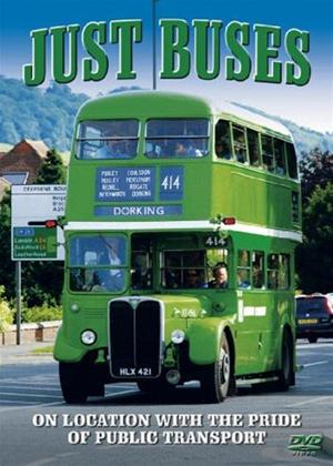 Just Buses: On Location with the Pride of Public Transport Online DVD Rental