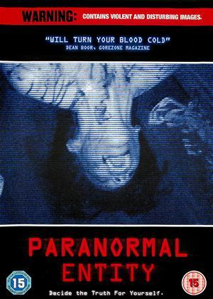 Rent Paranormal Entity Online DVD Rental
