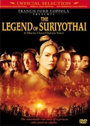 The Legend of Suriyothai Online DVD Rental