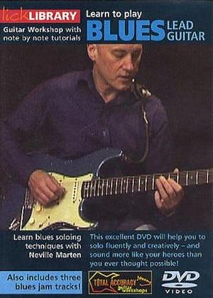 Rent Learn to Play: Blues Lead Guitar Online DVD Rental