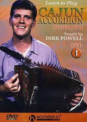 Rent Learn to Play: Cajun Accordion 1 Online DVD Rental