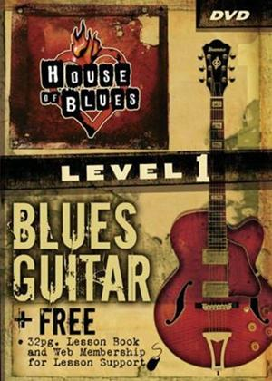 Rent House of Blues: Learn to Play Blues Guitar: Level 1 Online DVD Rental