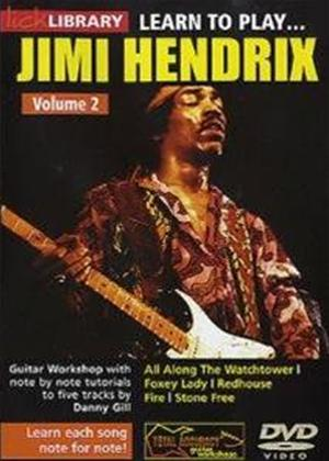 Rent Lick Library: Learn to Play Jimi Hendrix: Vol.2 Online DVD Rental