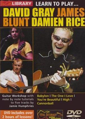 Rent Learn to Play: David Gray, James Blunt, Damien Rice Online DVD Rental