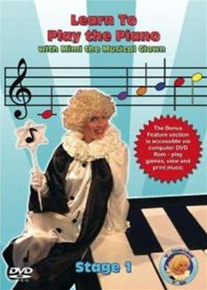 Learn to Play the Piano with Mimi the Musical Clown: Stage 1 Online DVD Rental