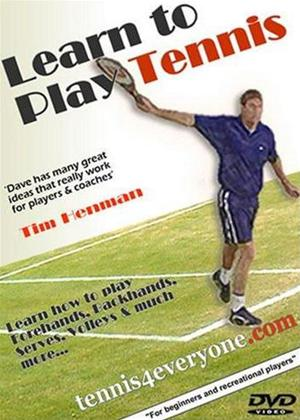 Rent Learn to Play Tennis Online DVD Rental