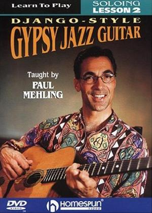 Rent Paul Mehling: Learn to Play Django-Style Gypsy Jazz Guitar: Vol.2 Online DVD Rental