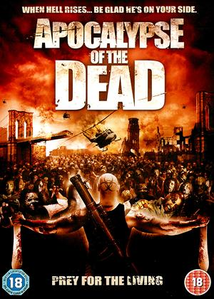 Rent Apocalypse of the Dead (aka Zona Mrtvih) Online DVD Rental