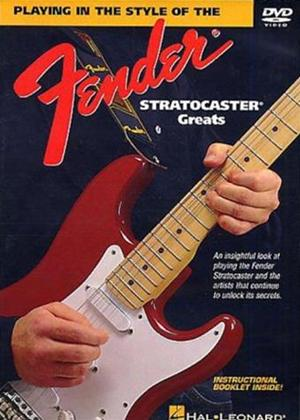 Tom Kolb: Playing in the Style of the Fender Stratocaster Greats Online DVD Rental