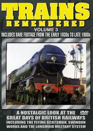 Rent Trains Remembered: Vol.3 Online DVD Rental