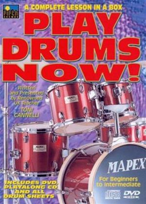 Play Drums Now! Online DVD Rental