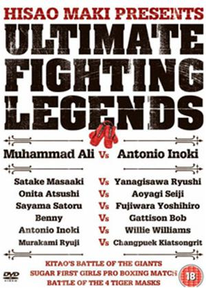 Rent Ultimate Fighting Legends Online DVD Rental