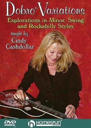 Rent Cindy Cashdollar: Dobro Variations Online DVD Rental
