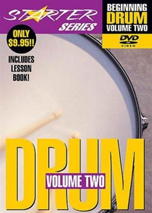 Rent Starter Series: Beginning Drum: Vol.2 Online DVD Rental