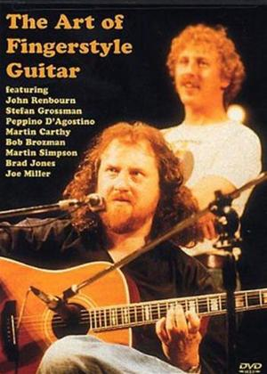 Rent The Art of Fingerstyle Guitar Online DVD Rental