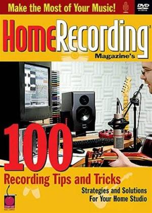 Rent 100 Recording Tips and Tricks Online DVD Rental