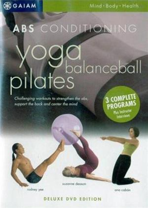 Abs Conditioning: Yoga, Balanceball, Pilates Online DVD Rental