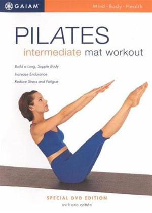 Rent Pilates Intermediate Mat Workout Online DVD Rental