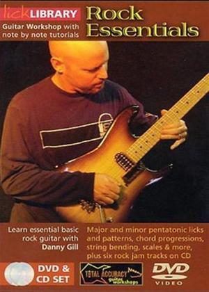 Rent Lick Library: Rock Essentials Online DVD Rental