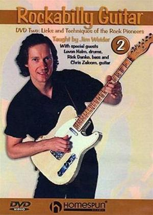 Rent Rockabilly Guitar 2: Licks and Techniques of the Rock Pioneers Online DVD Rental