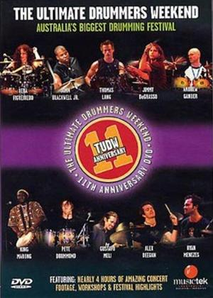 Rent The Ultimate Drummers Weekend: 11th Anniversary Online DVD Rental