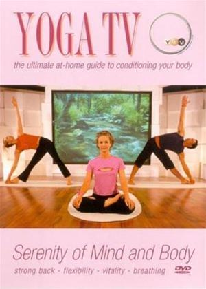 Rent Yoga TV: Strong Back, Flexibility, Vitality, Breathing Online DVD Rental
