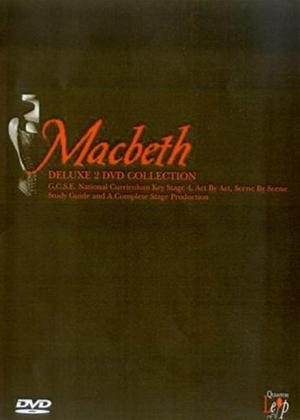 Macbeth: Deluxe G.C.S.E. Study Guide / Stage Production Online DVD Rental