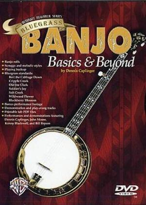 Rent Ultimate Beginner Series: Bluegrass Banjo Basics and Beyond Online DVD Rental
