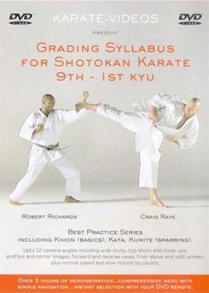 Grading Syllabus for Shotakan Karate: 9th to 1st Kyu Online DVD Rental