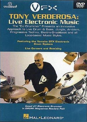 Rent Tony Verderosa: Live Electronic Music Online DVD Rental