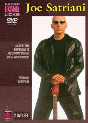 Rent Joe Satriani: Legendary Licks Online DVD Rental