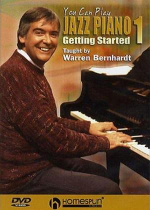 Rent You Can Play Jazz Piano 1: Getting Started Online DVD Rental
