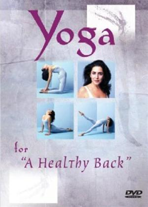 Rent Yoga for a Healthy Back Online DVD Rental