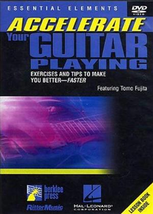 Rent Accelerate Your Guitar Playing Online DVD Rental