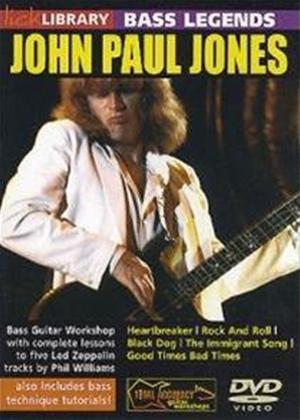 Rent Lick Library: Bass Legends: John Paul Jones Online DVD Rental