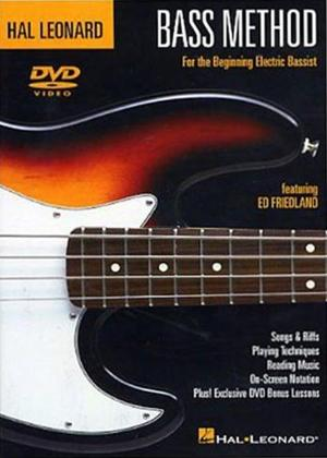 Rent Hal Leonard Bass Method Online DVD Rental