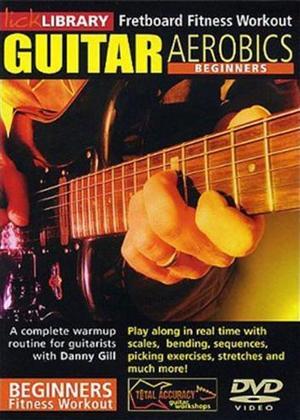 Rent Guitar Aerobics Beginners Online DVD Rental