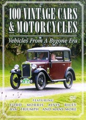 100 Vintage Cars and Motorcycles Online DVD Rental