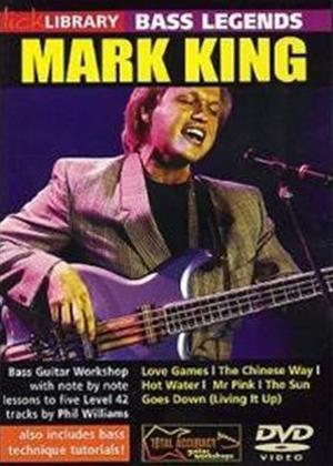 Rent Lick Library: Bass Legends: Mark King Online DVD Rental