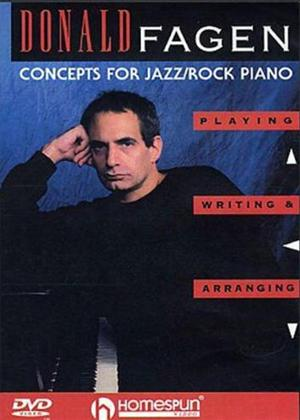 Rent Concepts for Jazz/Rock Piano Online DVD Rental