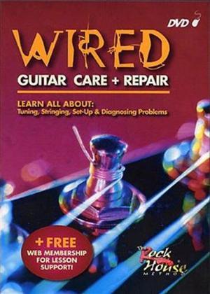 Rent Ken Nash: Wired: Guitar Care and Repair Online DVD Rental