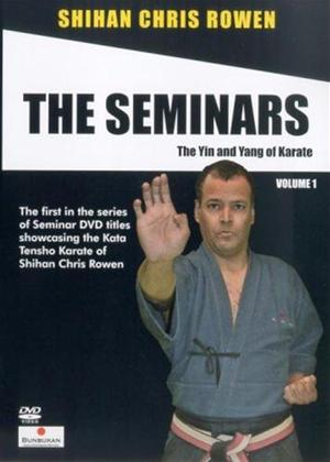 Rent Chris Rowen the Goju-Ryu Karate Seminars: Vol.1 Online DVD Rental