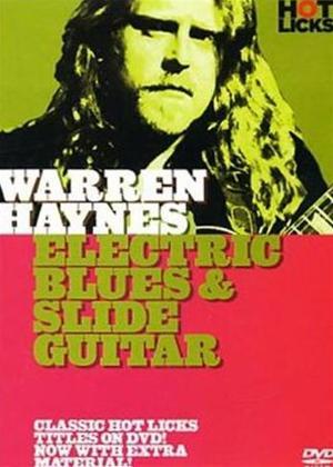 Rent Hot Licks: Warren Haynes: Electric Blues and Slide Guitar Online DVD Rental