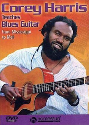 Corey Harris Teaches Blues Guitar Online DVD Rental