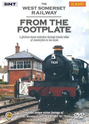 From The Footplane: The West Somerset Railway Online DVD Rental