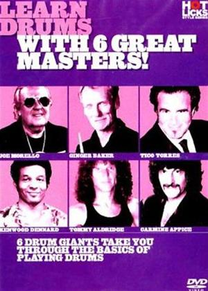 Hot Licks: Learn Drums with 6 Great Masters Online DVD Rental