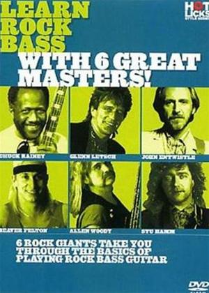 Rent Hot Licks: Learn Rock Bass with 6 Great Masters! Online DVD Rental