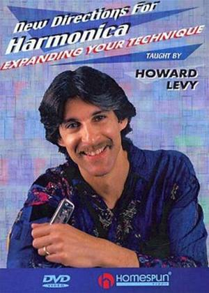 Rent Howard Levy: New Directions for Harmonica: Expanding Your Technique Online DVD Rental
