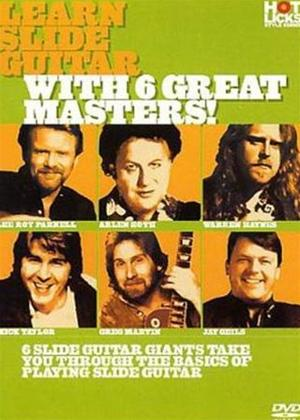 Rent Hot Licks: Learn Slide Guitar with 6 Great Masters Online DVD Rental